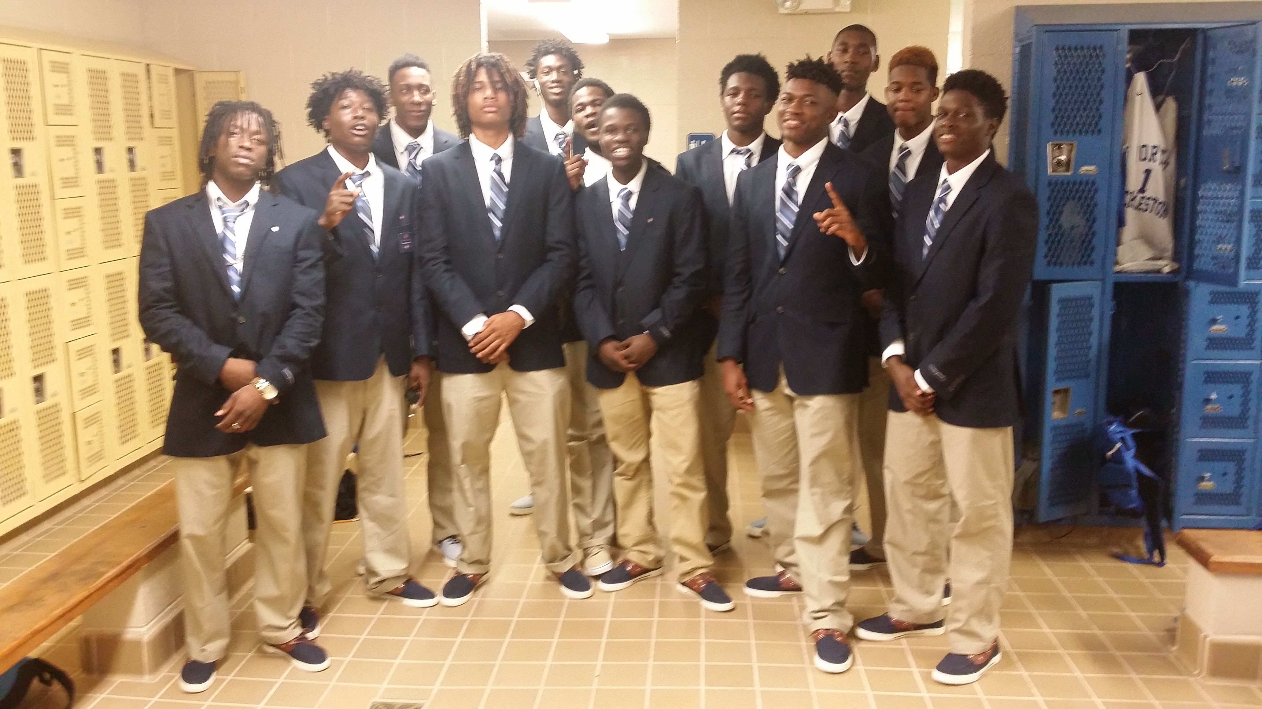 North Charleston High School Basketball Team