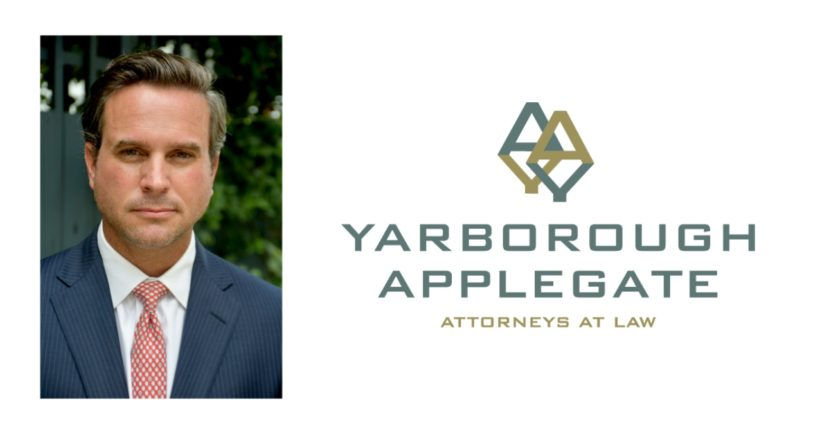 Attorney David Lail and Yarborough Applegate logo